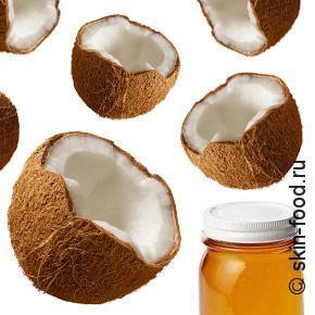 Домашняя кокосовая маска для волос. Всего 2 ингредиента.