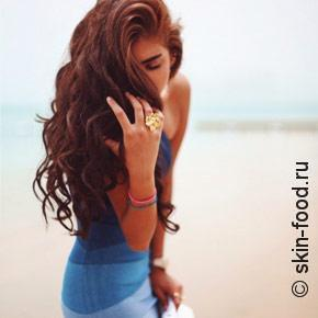 Спрей с морской солью для создания волнистых волос