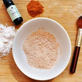 Рецепт домашней пудры для лица из натуральных ингредиентов